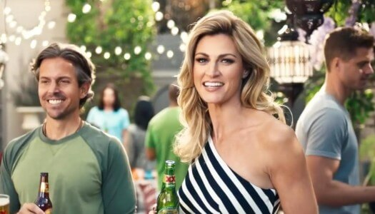 Erin Andrews and Luis Guzmán Star in Latest Dos Equis Ads