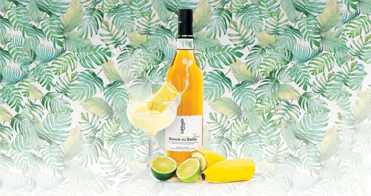 Giffard Banana Daiquiri, white, featured image