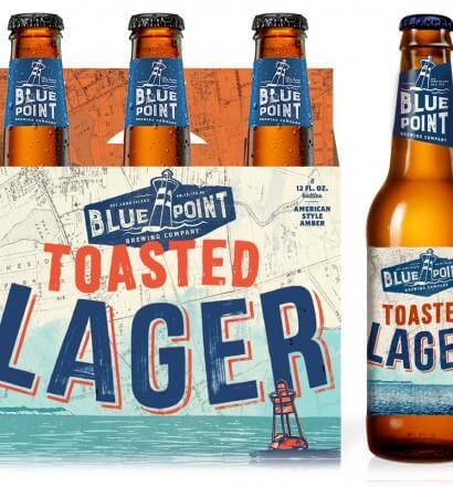 Blue Point Brewing Co. Bottle Design, Old and New