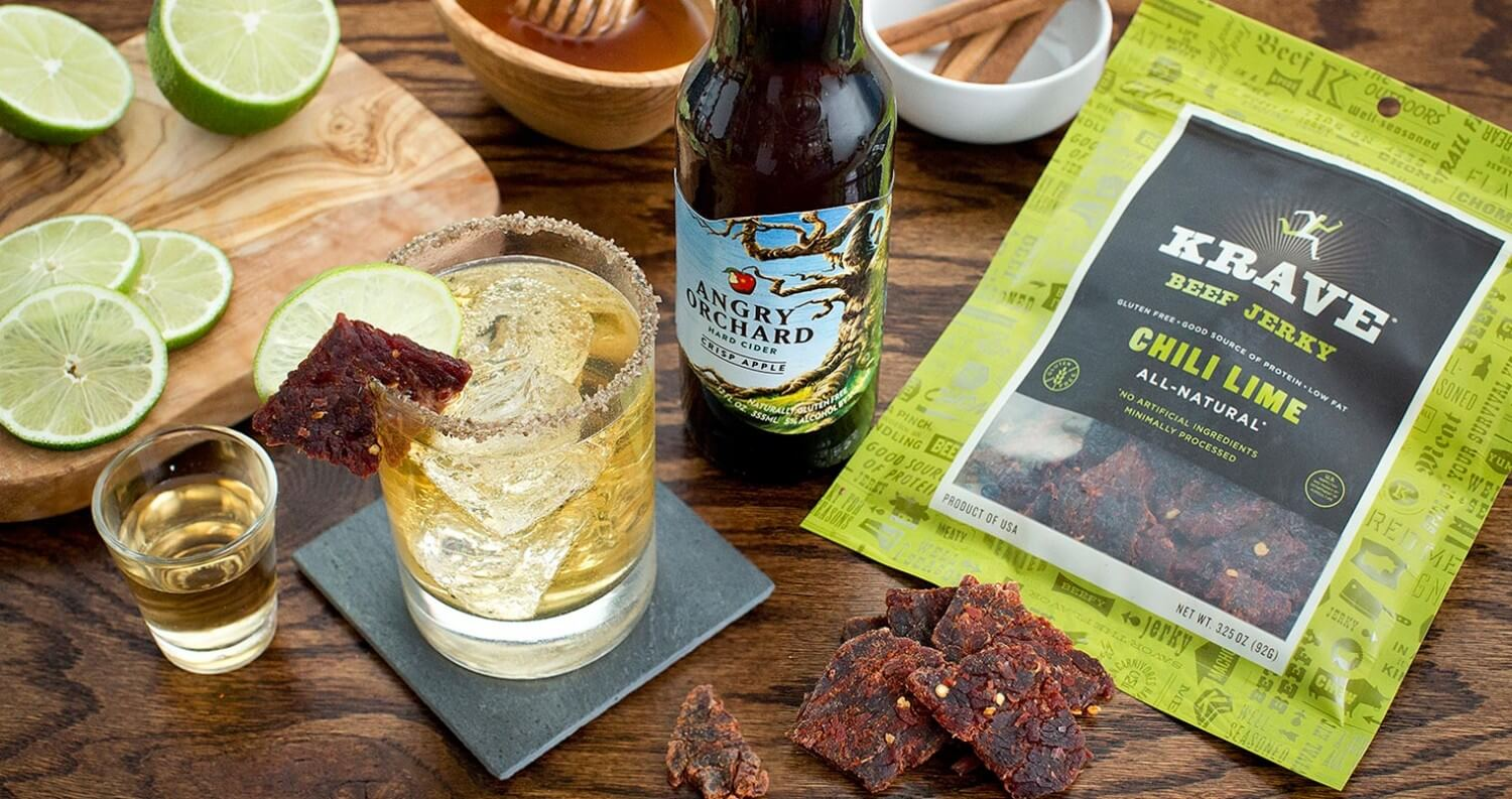 National Jerky Day Cocktail - Apple Meets Chili Lime, featured image