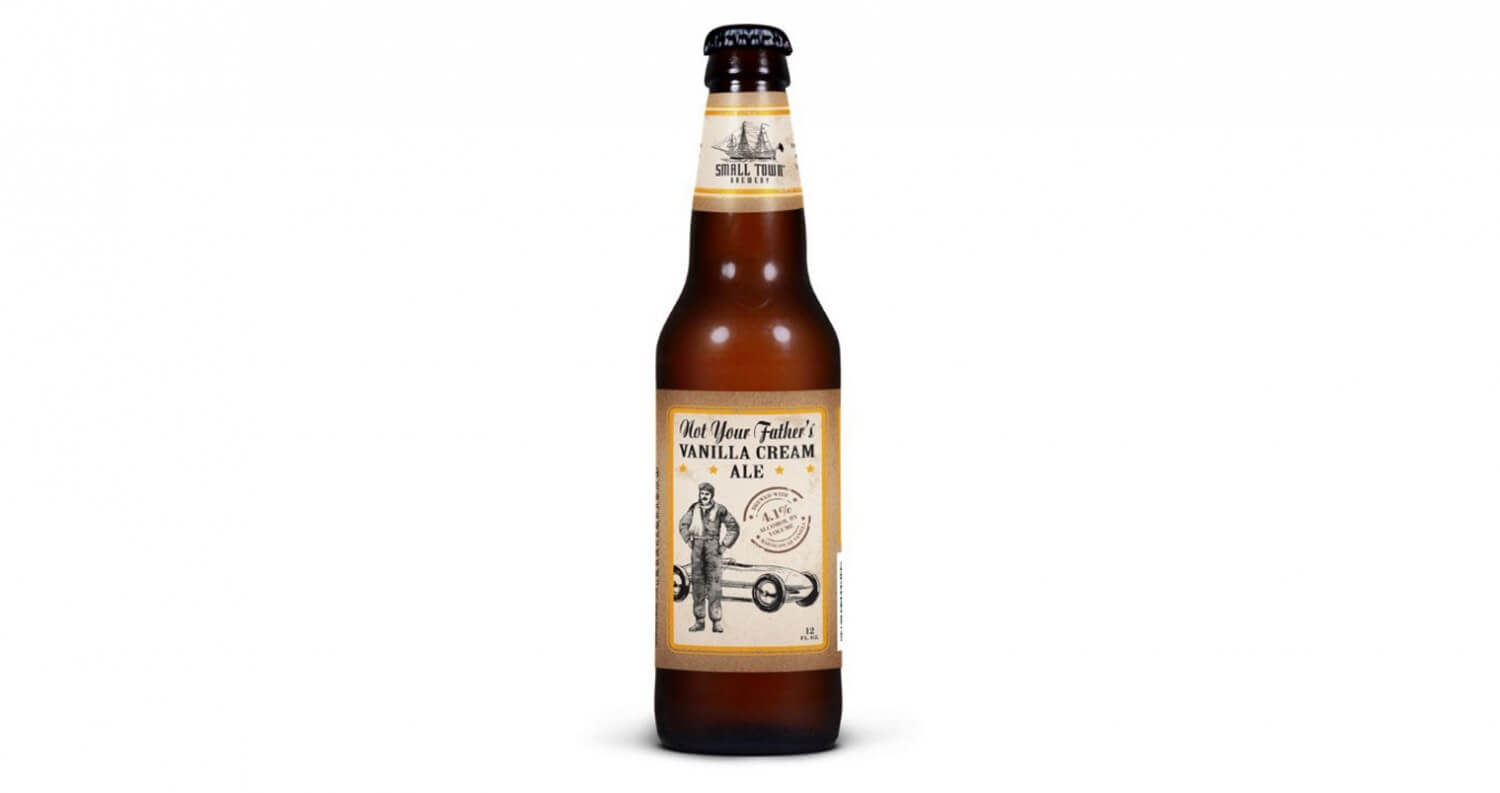 Small Town Brewery Launches 'Not Your Father's Vanilla Cream Ale', featured image