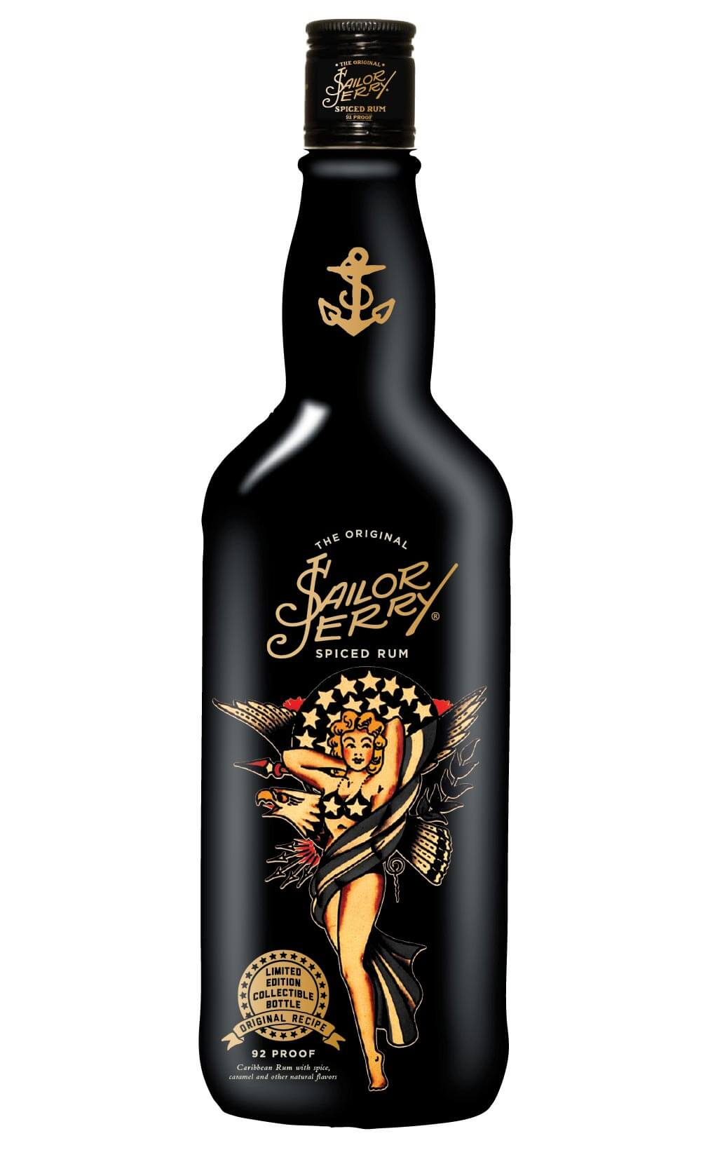 Sailor Jerry Rum Limited Edition Bottle for 4th of July