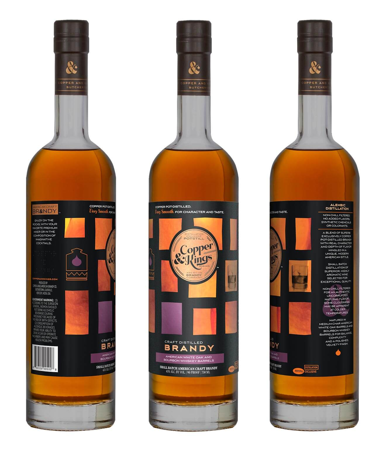 Copper & Kings Craft Distilled Brandy