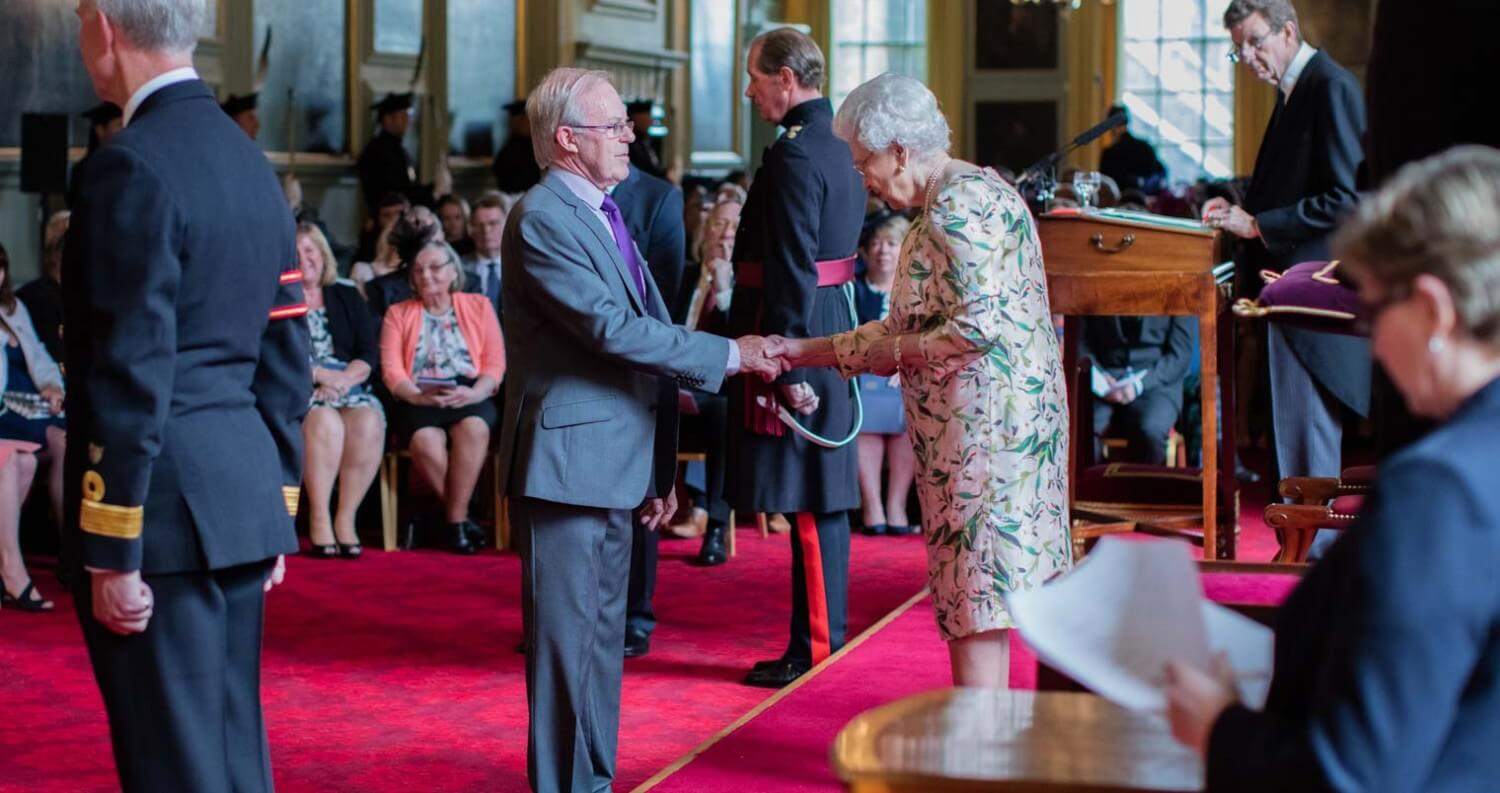 The Balvenie's David Stewart Awarded MBE By Queen Elizabeth II, featured image