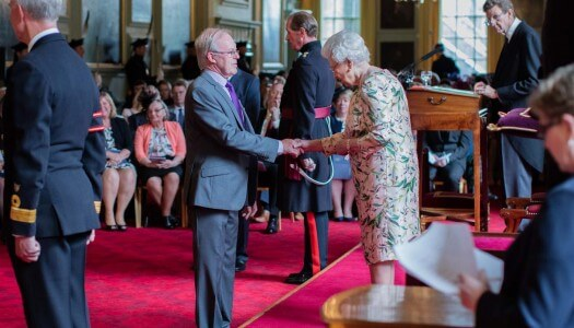 The Balvenie's David Stewart Awarded MBE By Queen Elizabeth II