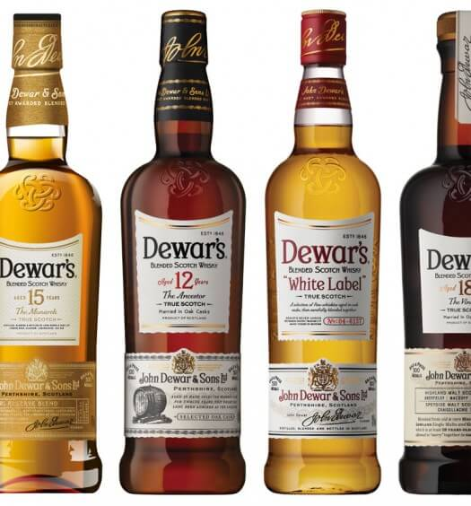 Dewar's Strikes Gold at International Spirits Challenge 2016