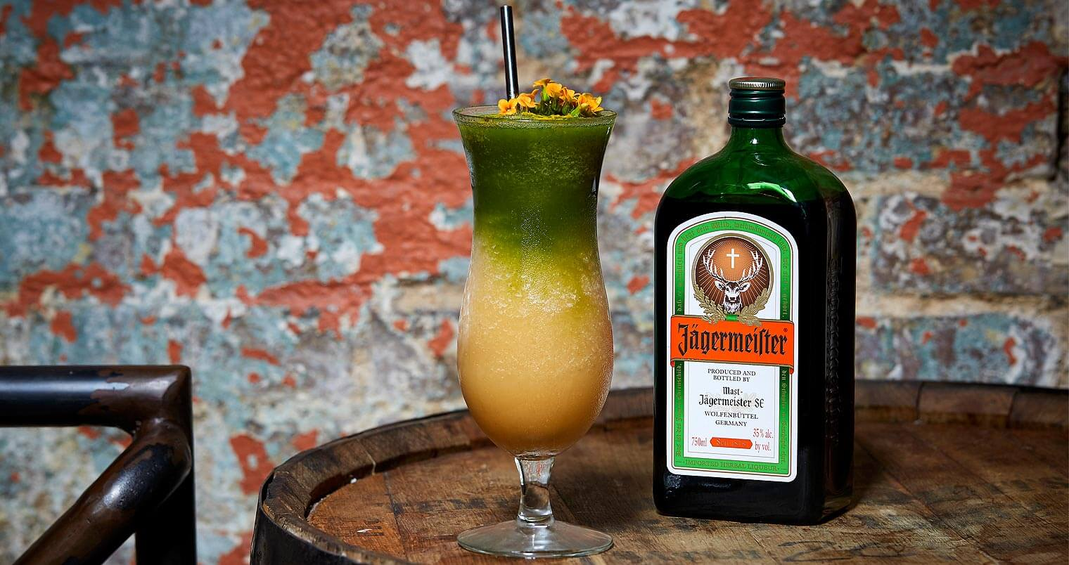 Must Mix: Jägermeister Grün with Envy