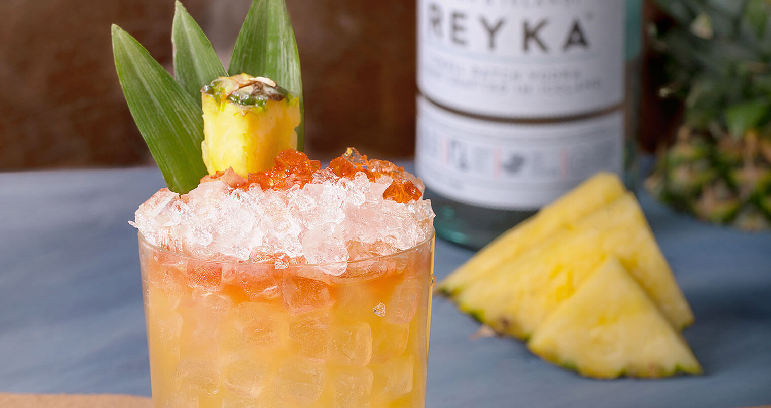 Easy to Mix: Reyka Vodka 'Lightning on my Feet' Cocktail, featured image
