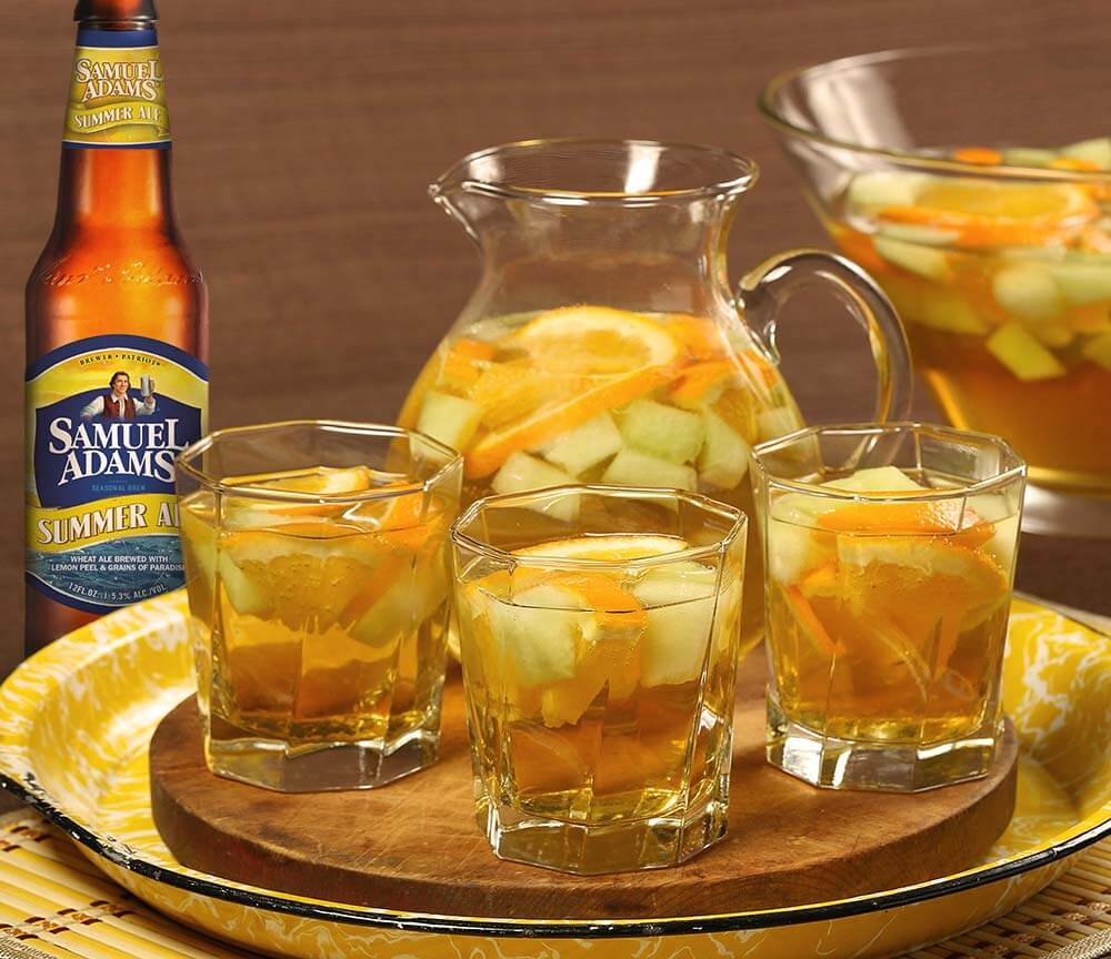 Must Mix: Samuel Adams Summer Ale Sangria
