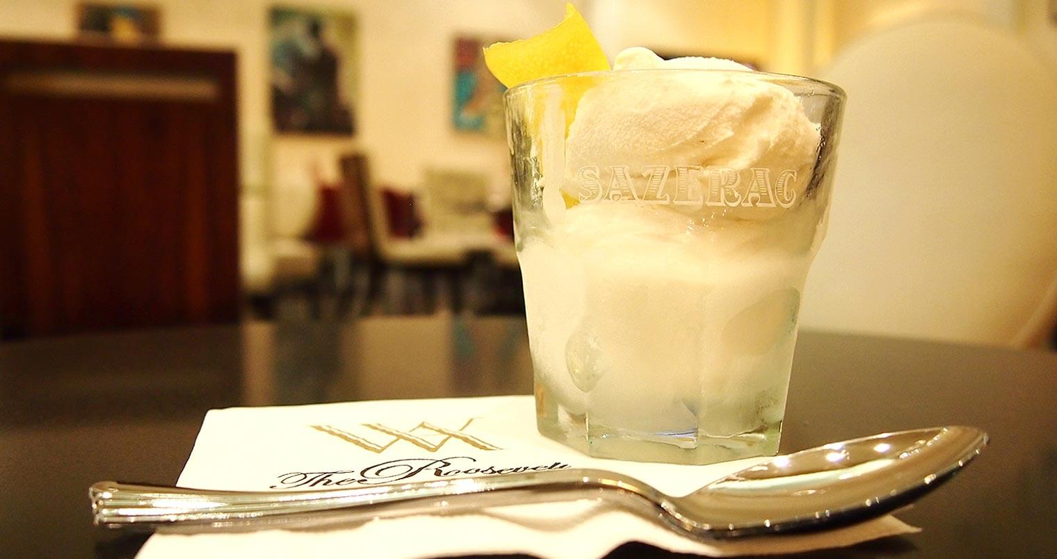 Sazerac Cocktail Ice Cream Now Being Served in NOLA, featured image