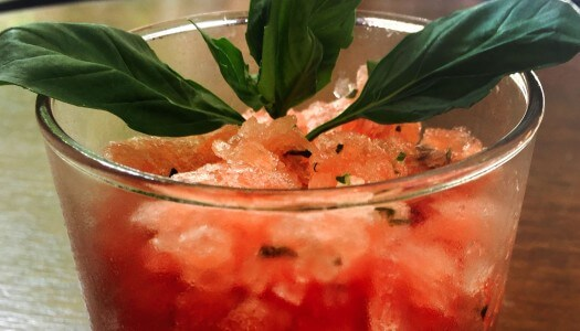 Must Mix: Semi-Frozen Watermelon Margarita Granita