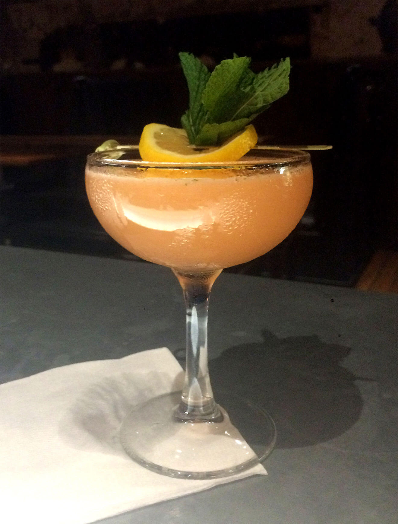 buzz on the southside cocktail