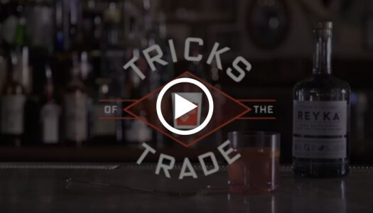 Reyka Vodka Launches 'Tricks of the Trade 2.0' Video Series