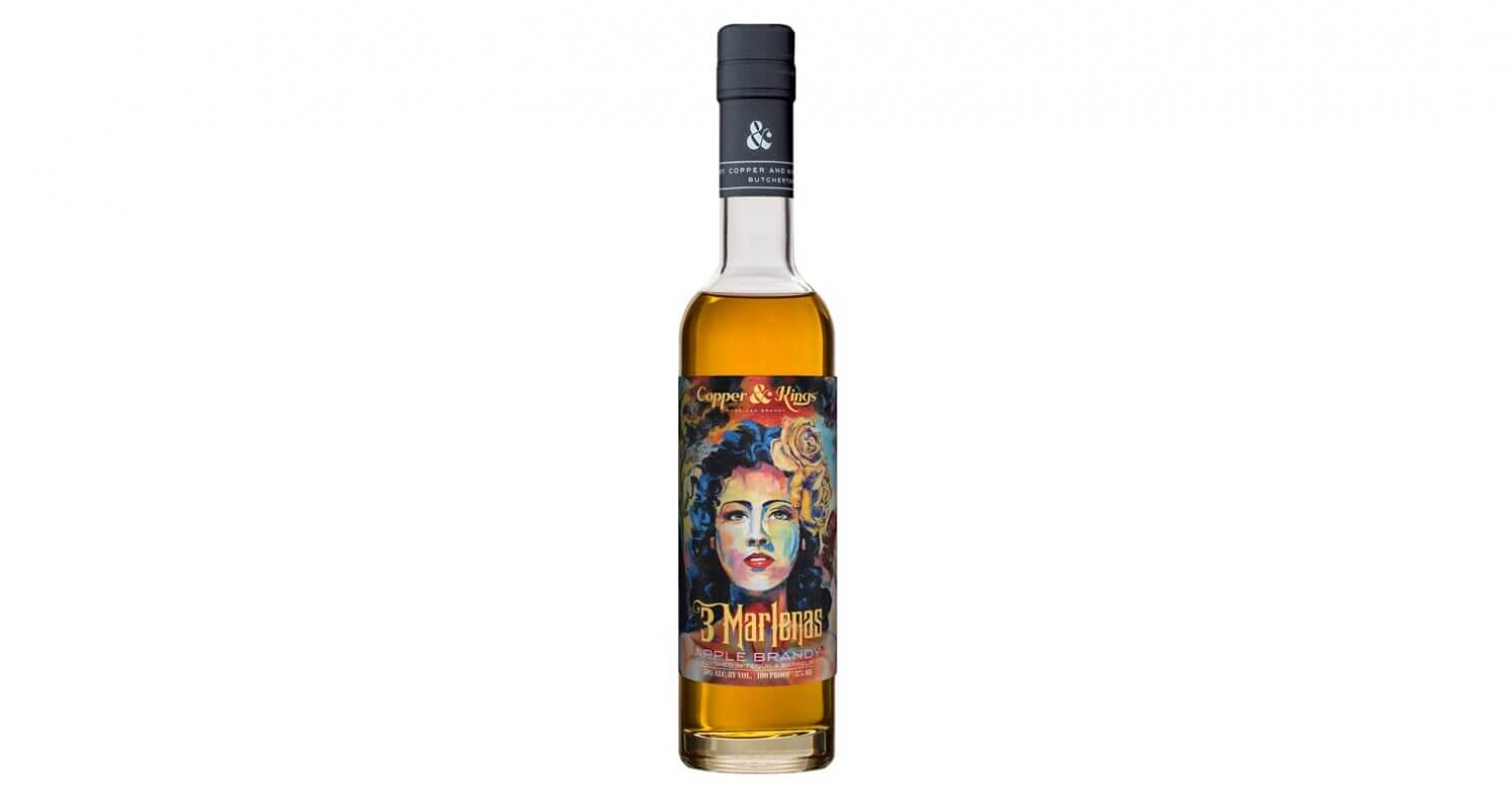 Copper & Kings Launches '3 Marlenas' Tequila Barrel Aged Apple Brandy, featured image
