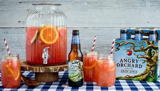 Angry Orchard Labor Day Cocktails