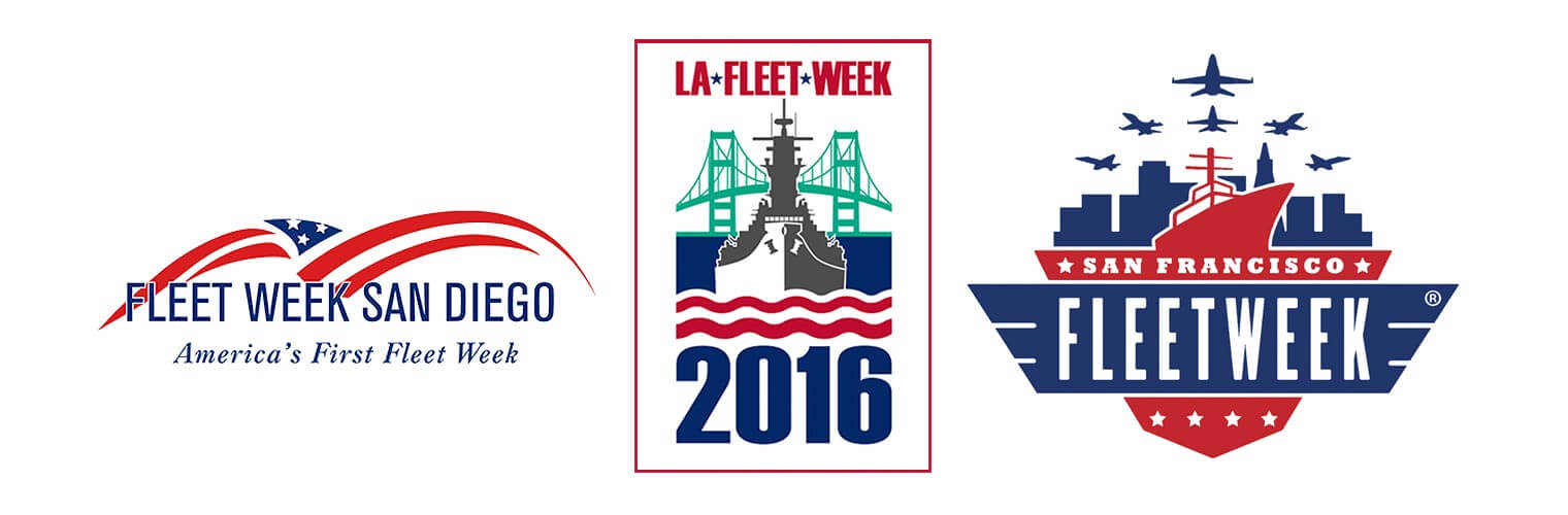 Sailor Jerry Partners with Fleet Week San Francisco, San Diego and Los Angeles, logos, sponsors