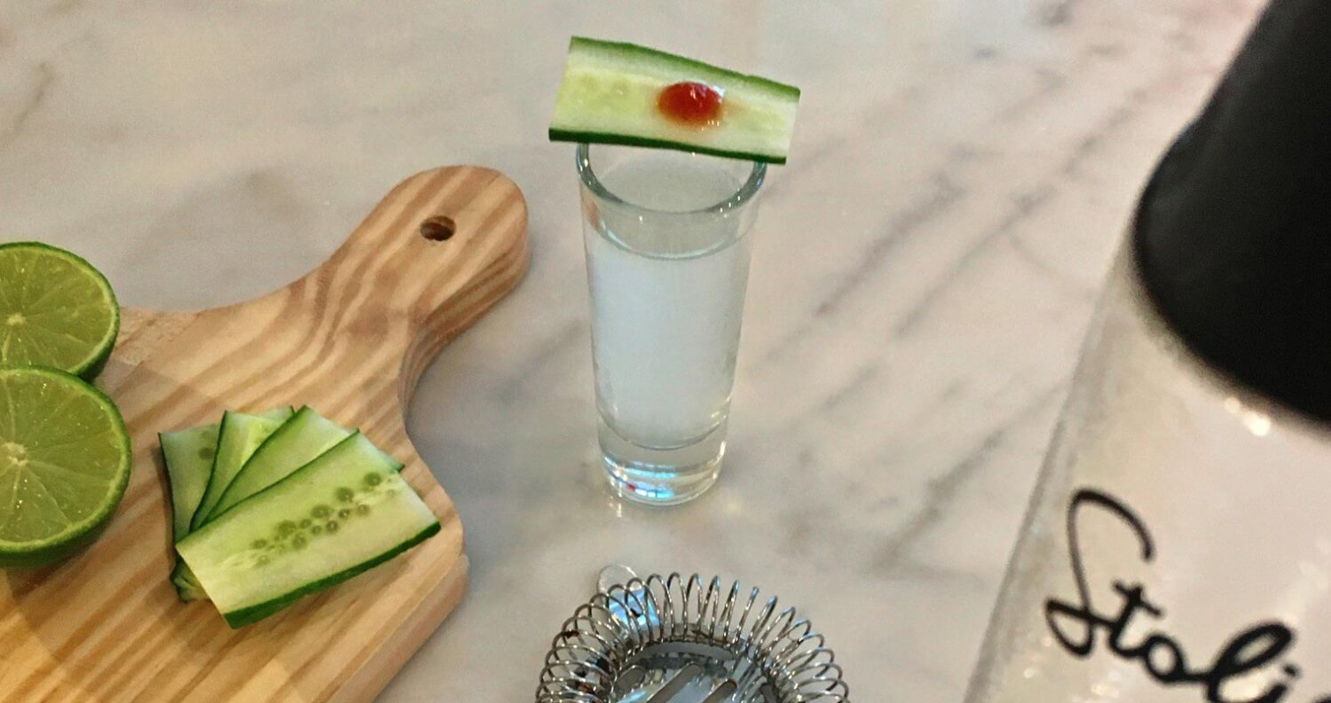 Stoli Elit Hot and Cold Shot, featured image