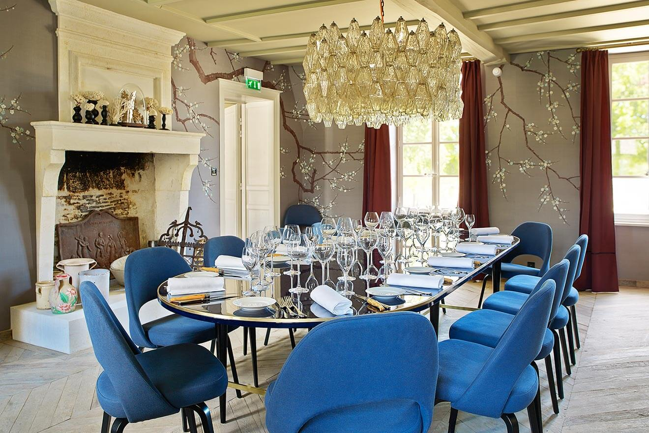 Le Logis The Home of GREY GOOSE, Dining Room