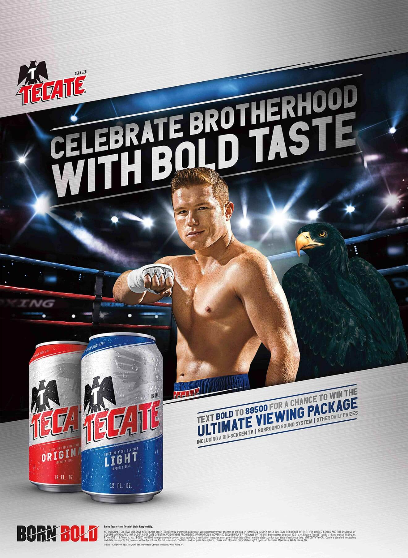 Tecate-weve-got-your-back-campaign poster