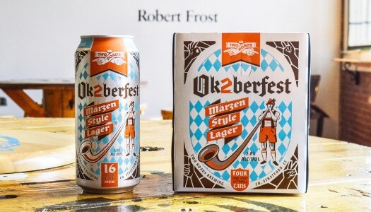 Two Roads Ok2berfest Marzen Now Available in Cans