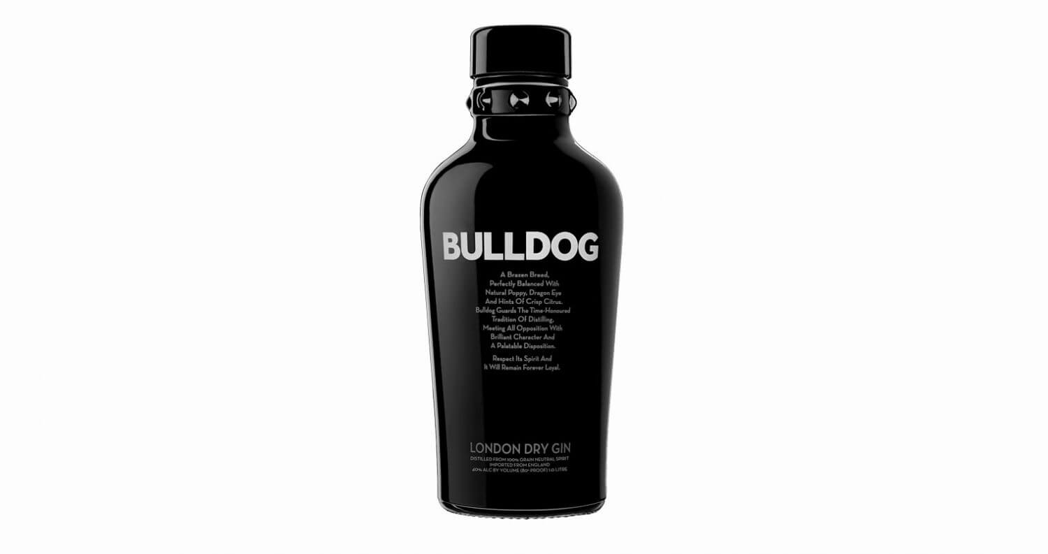 Bulldog Gin Confirmed World's Fastest Growing Premium Gin, featured image