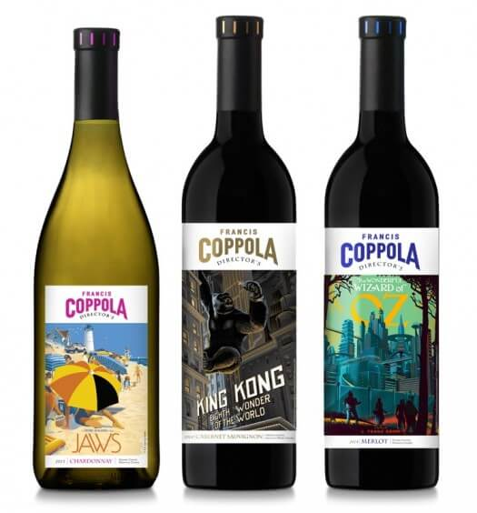 Coppola Winery Unveils Limited Edition 'Director's Great Movies' Wine Collection, featured image