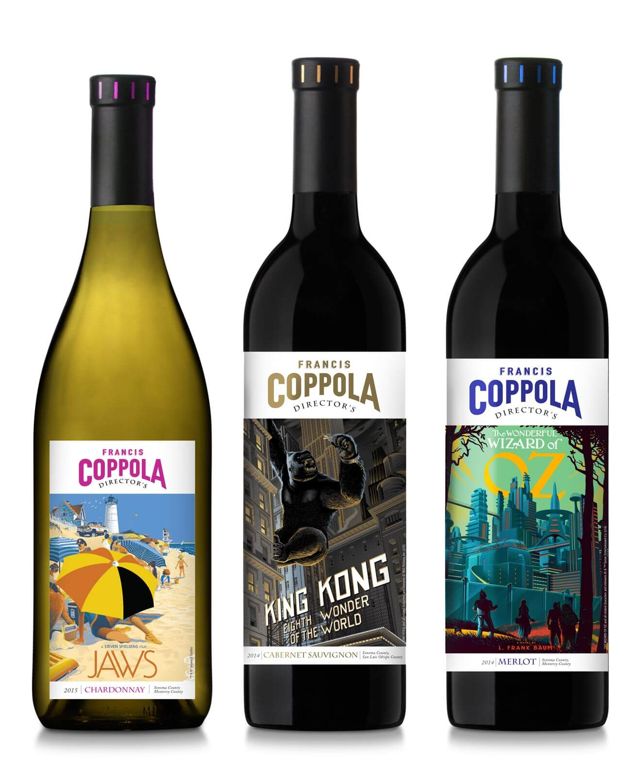 Coppola Winery Unveils Limited Edition 'Director's Great Movies' Wine Collection