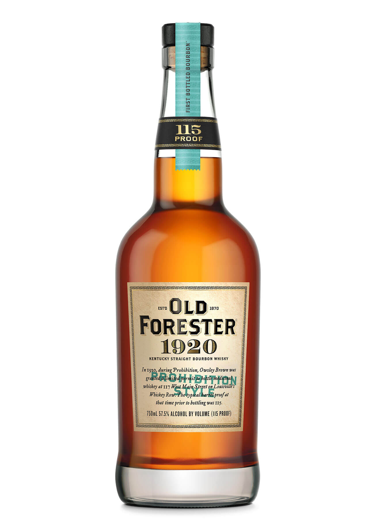 Old Forester Releases 1920 Prohibition Style