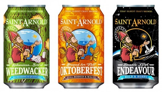 Saint Arnold Brewing Expands Cans to Include Weedwacker and Endeavour
