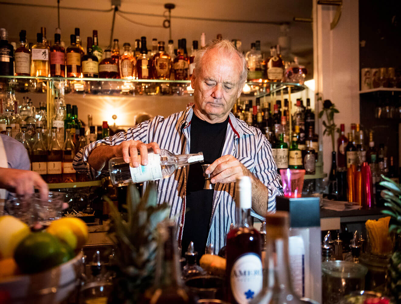 Bill Murray Pouring Tequila