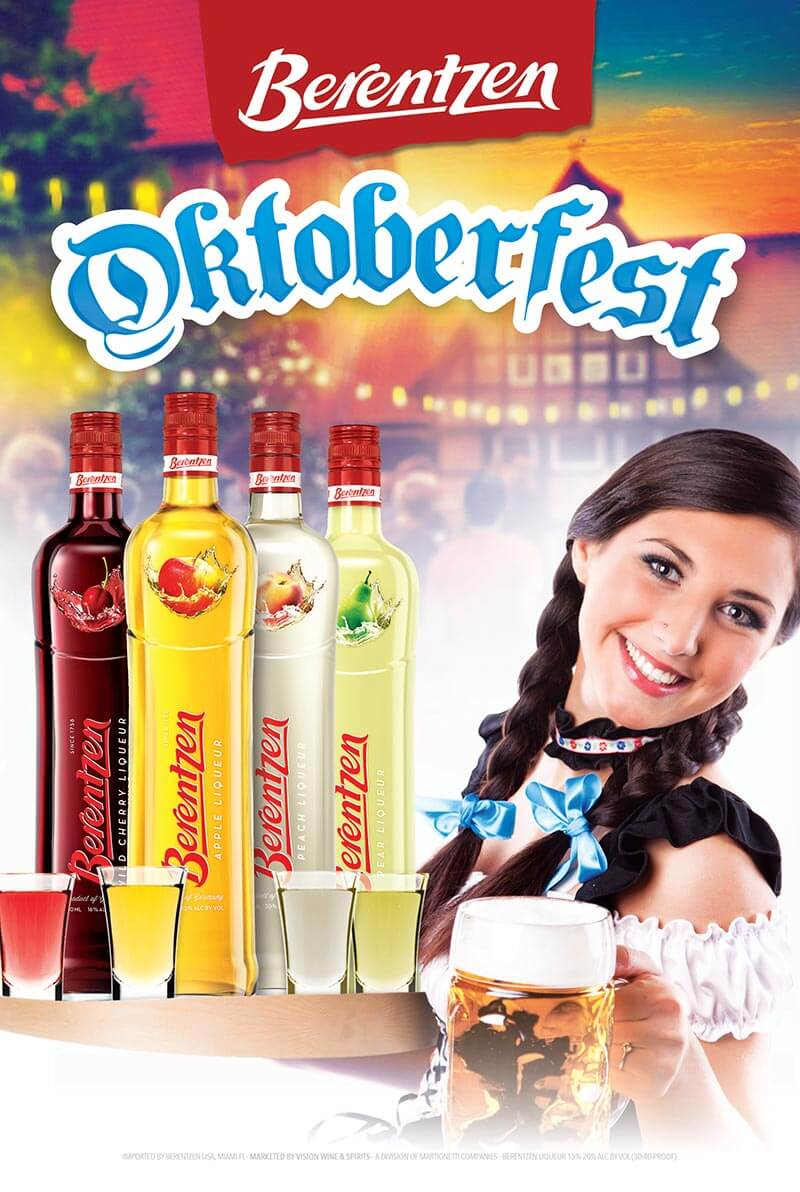 Berentzen Oktoberfest Bar Kit Now Available, poster