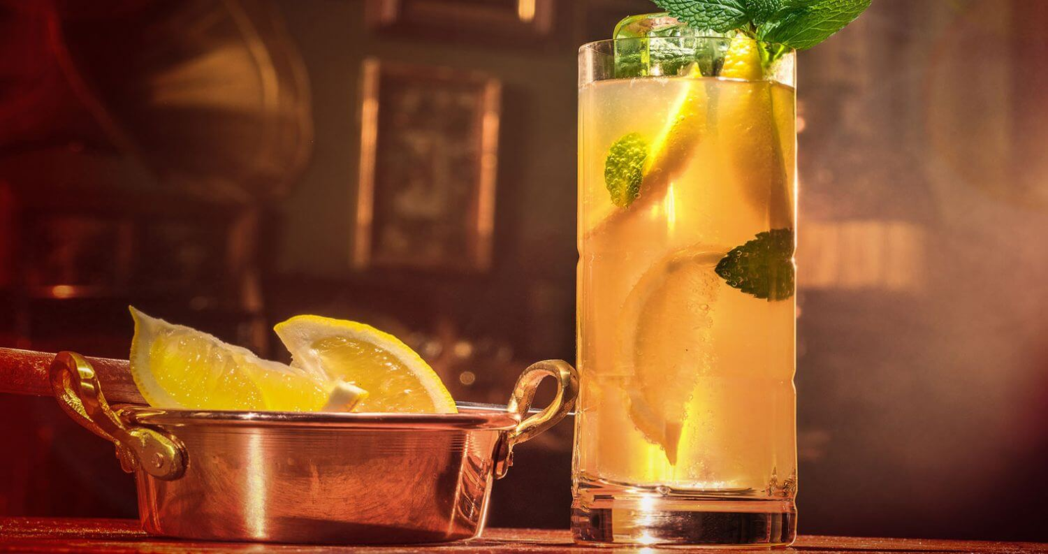 Chilled Drink of the Week: Drambuie Collins, featured image