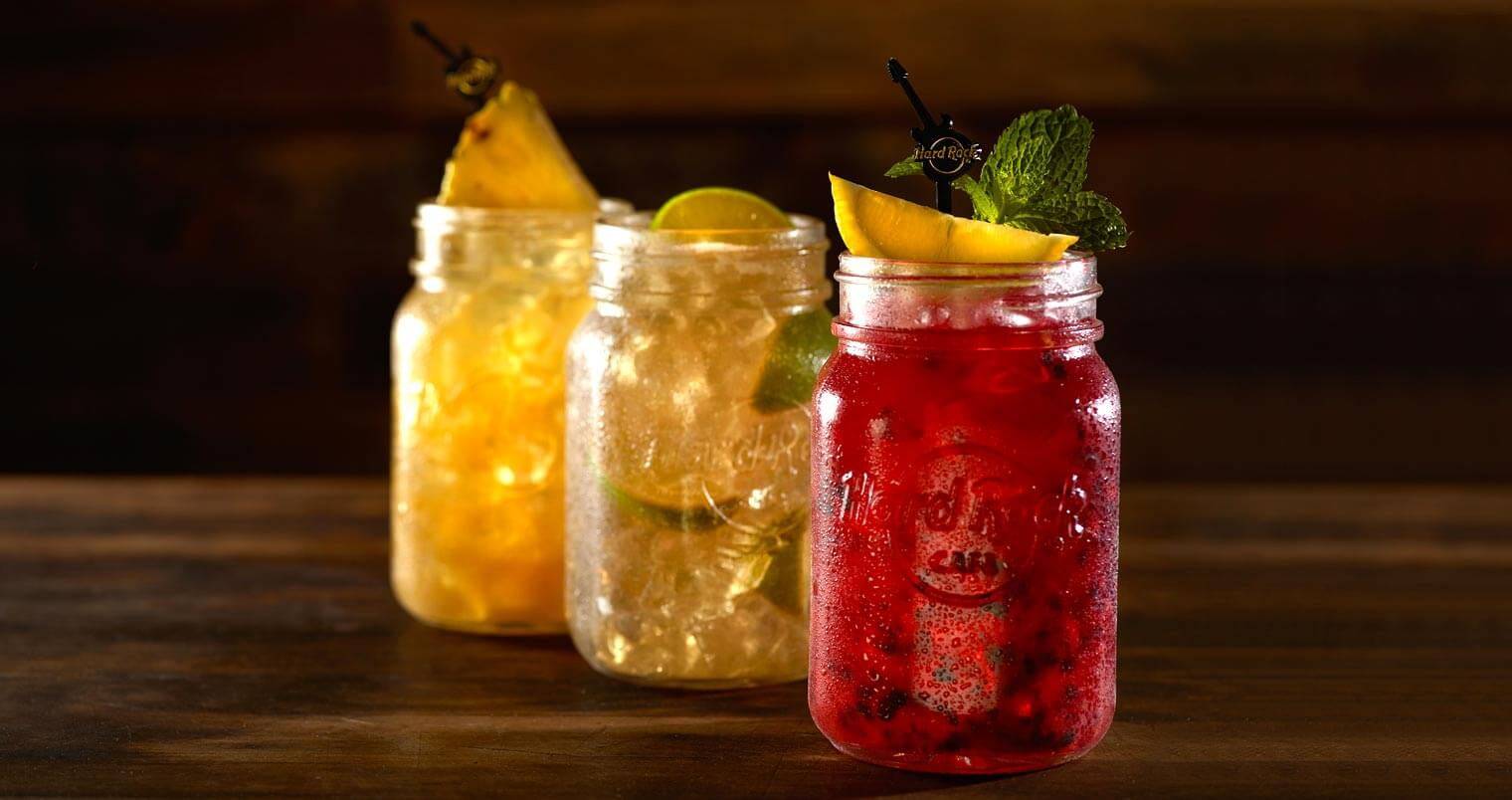 Hard Rock Cafe Seasonal Mason Jar Cocktails, featured image