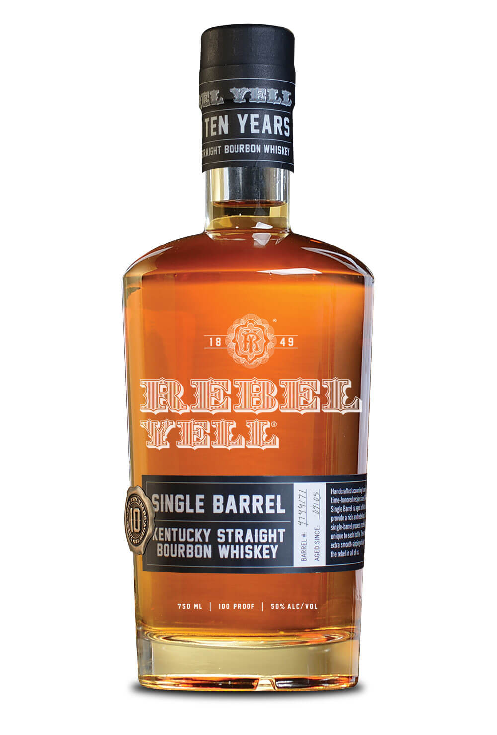 Rebel Yell Single Barrel Bourbon