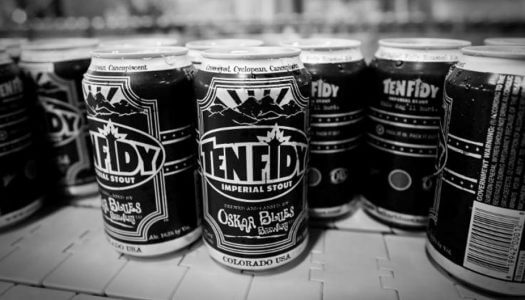 Oskar Blues Brewery's Award-Winning Ten FIDY Imperial Stout Returns