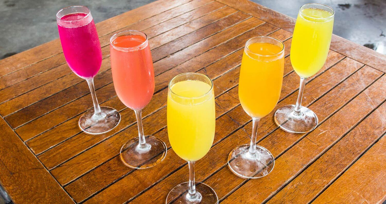 5 Must Mix Mimosas