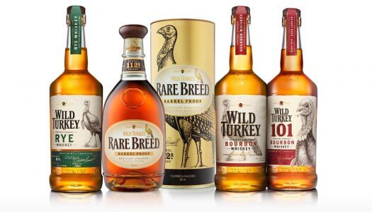 Wild Turkey New Packaging Arrives in the UK