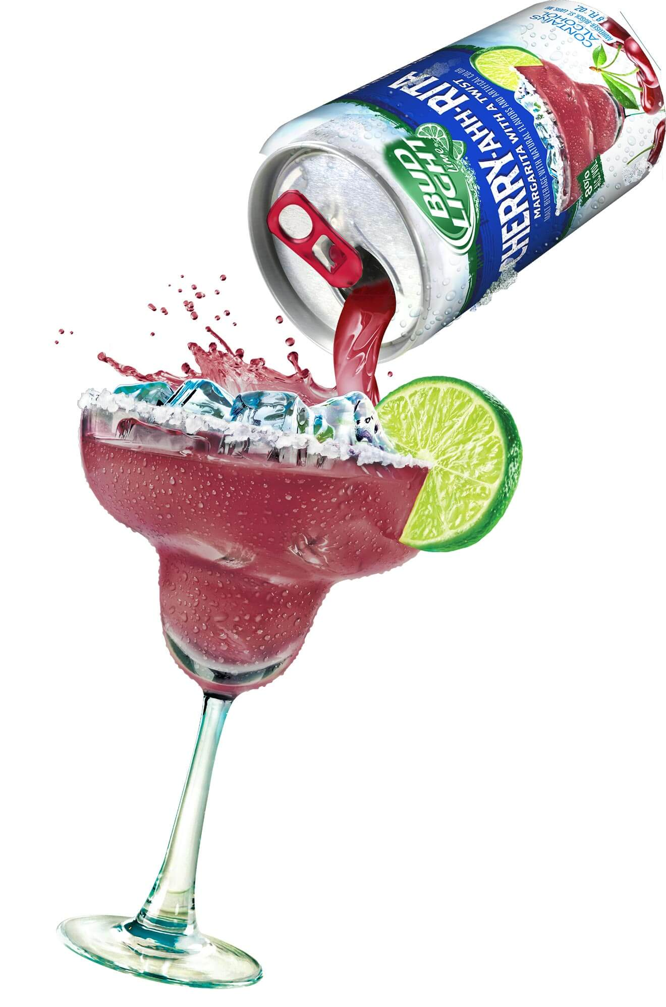Lime-A-Rita Introduces Cherry-Ahh-Rita, pouring cocktail