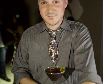Christopher Day and His Winning Cocktail 'Terra Firma'