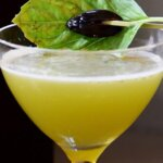 Calvados Apple Brandy Halloween Cocktail, featured image