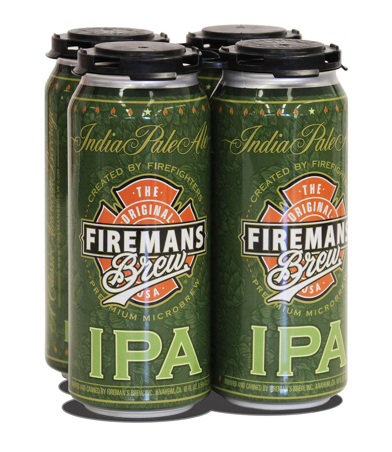 Fireman's Brew Introduces New IPA, 4pack pints