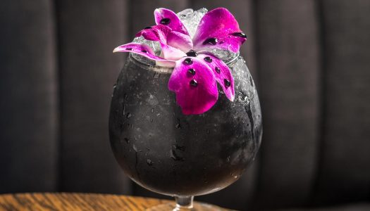 Activated Charcoal Halloween Cocktails