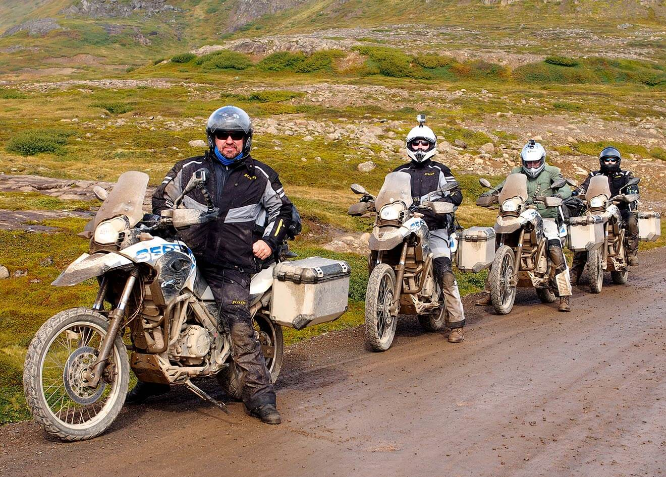 The Iceland Crew Ready to Ride
