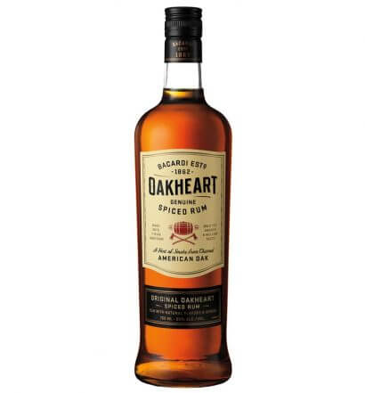 OAKHEART Genuine Spiced Rum Hits Shelves with New Signature Packaging, featured image