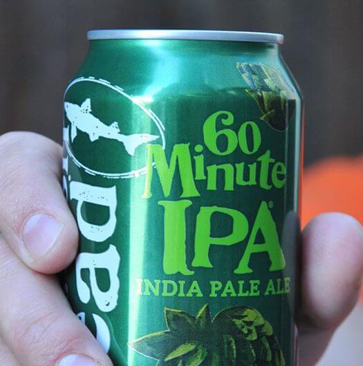 Dogfish Head Unveils 60 Minute IPA in Cans, featured image