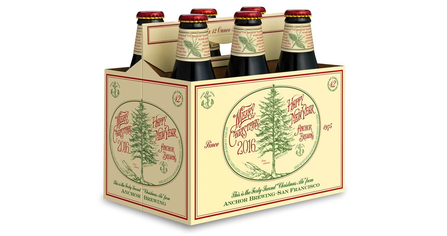 Anchor Steam Christmas Ale 2021 Anchor Brewing Releases Their 42nd Annual Christmas Ale Chilled Magazine