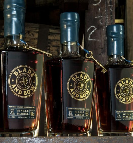 Single Barrel of Blade and Bow 24-Year-Old Whiskey Up For Auction, featured image