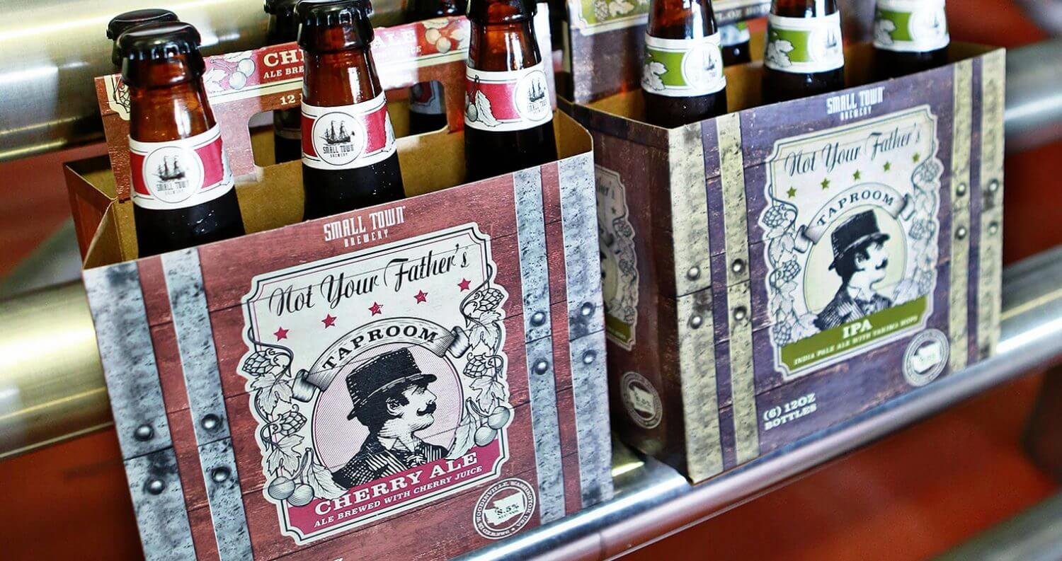 Taproom Cherry and Taproom IPA 6 Packs