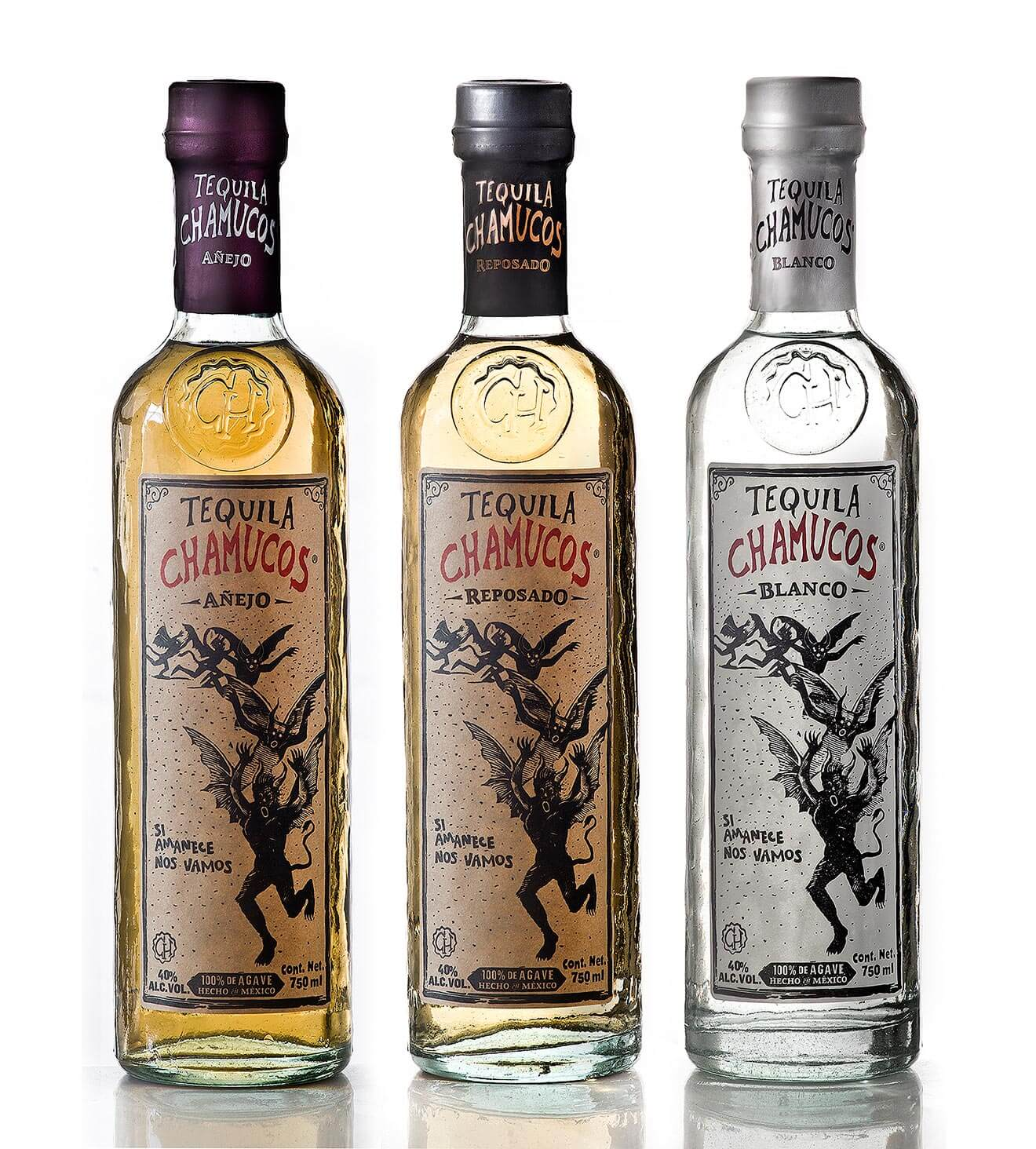 Tequila Chamucos Lineup