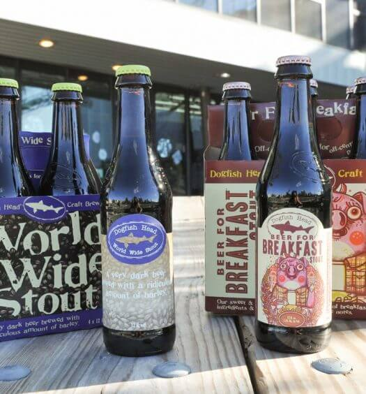 Dogfish Head Releases Beer for Breakfast and World Wide Stout, featured image